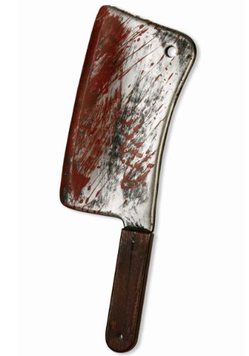 Forum Novelties Bloody Weapons Cleaver ()