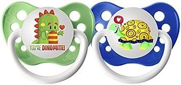 Chupetes - 0-6 meses - Dragón y la tortuga - 2 ... - Amazon.com