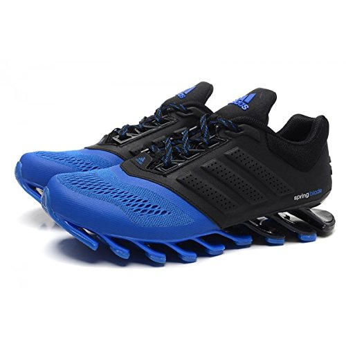 operador Listo Digital  Buy Adidas Men's Springblade Drive Running Shoes neon Blue and Black-10uk  at Amazon.in