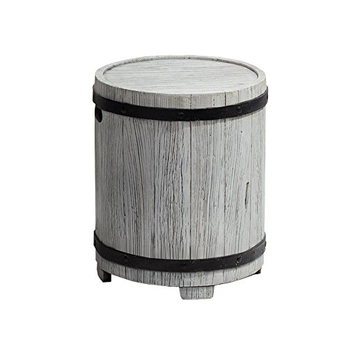 Ove Decors BARREL Outdoor Patio Side Table by Ove Decors