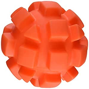 Soft-Flex Bumpy Ball Dog Toy, 5.5-inch