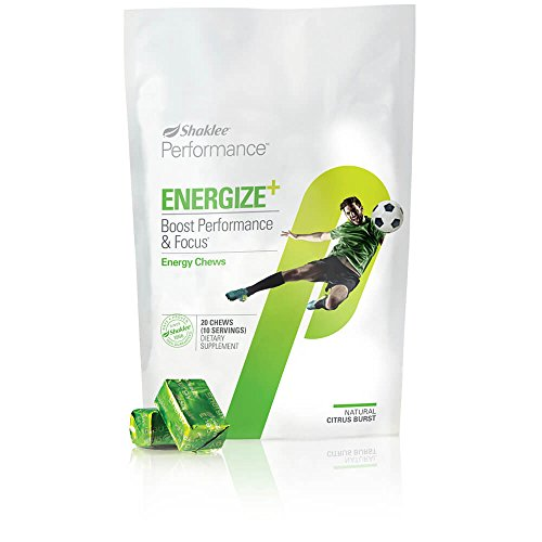 - Shaklee Performance Energy Chews Citrus Burst 20 Count