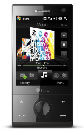 HTC Touch Diamond Unlocked Phone with 3.2 MP Camera, MP3/Video Player, and Windows Mobile 6.1--International Version with No Warranty (Black)