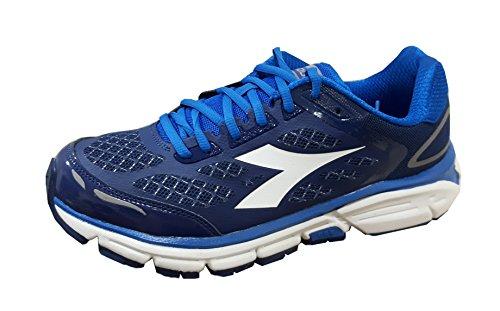 Schuhe Diadora shindano 5Art.172071Running C2204 Blu Profondo Bianco Candido