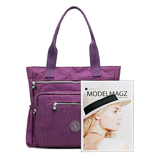 Travel Shopping and Bag EU for Work Messenger Womens blue Bag Nameblue Handbags Tote Shoulder Nylon Girls 6031 Bag School 1309 A6ZxqSO