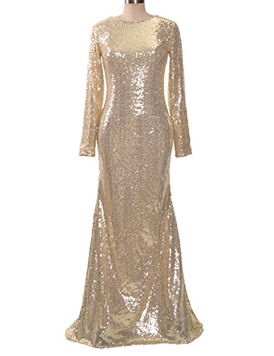 Champagne Evening Gowns - 9