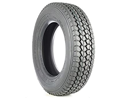 Double Coin RLB490 Low Profile Drive-Position Multi-Use Commercial Radial Truck Tire - 225/70R19.5 12 ply