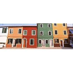 Burano Venice Italy Poster Print (36 x 13)