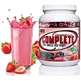 All Pro Science Complete All Pro Science, Complete 100% Grass Fed Protein, Strawberry Creme, 640-Gram