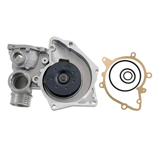 Bmw 540i Water Pump - Maxfavor Water Pump for 1993 1994 1995 BMW 530I 540I 740I 740IL V8 3.0L 4.0L DOHC GAS w/Gasket (AW9276 Replacement)