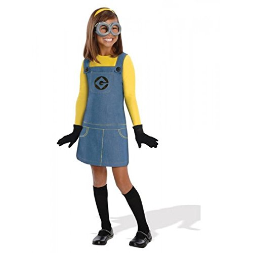 [Rubie's Costume Co Child Female Minion Costume, Toddler] (Child Female Minion Costumes)