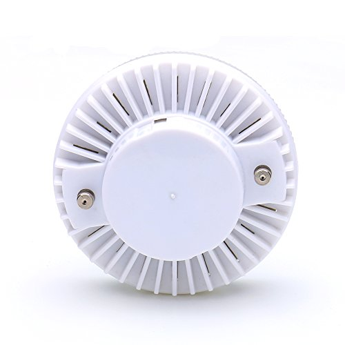 Aiboo 7W LED GX53 Under Cabinet Light Bulb 85-265VAC 500lm LED Puck Light for Traditional Halogen GX53 Spotlight (Pack of 5) (Warm White(3000K))