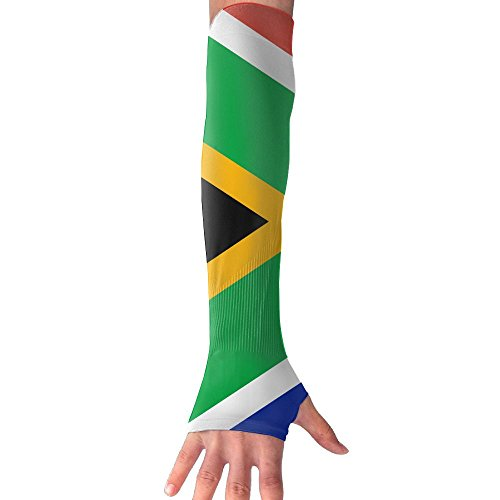 HBSUN FL Unisex South Africa Anti-UV Cuff Sunscreen Glove Outdoor Sport Climbing Half Refers Arm Sleeves by HBSUN FL