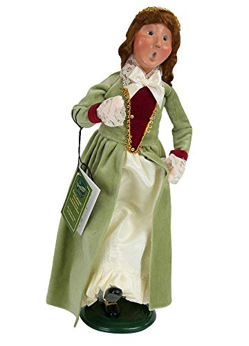 Byers' Choice 9 Ladies Dancing Caroler Figurine #739 from The 12 Days of Christmas Collection