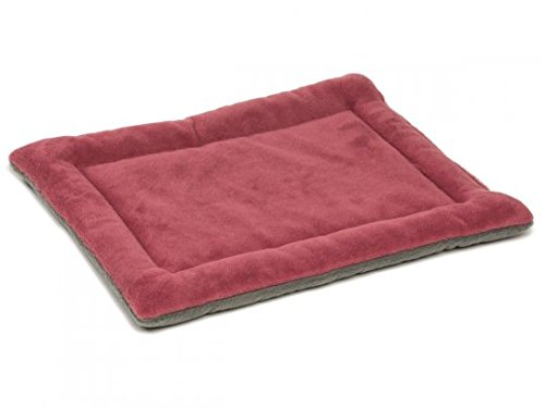 Thick Dog Crate Pad Classic Reversible Padded Pet Nap Pad Kennel Mattress Cushion Pad Sofa Couch Covers Washable for Small Medium Large Dogs 40L x 28W x 2H Inch