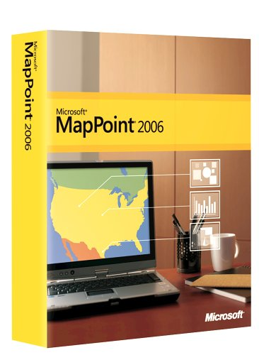 Microsoft MapPoint 2006 Standard Edition [Old Version]