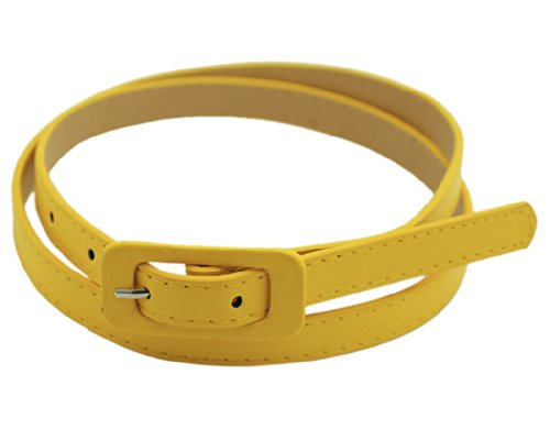 yellow belt buckle - 6
