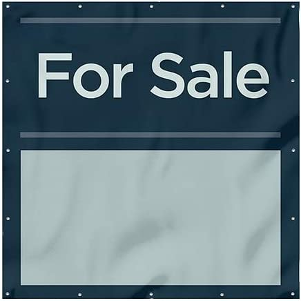 9x6 CGSignLab for Sale Classic Navy Heavy-Duty Outdoor Vinyl Banner