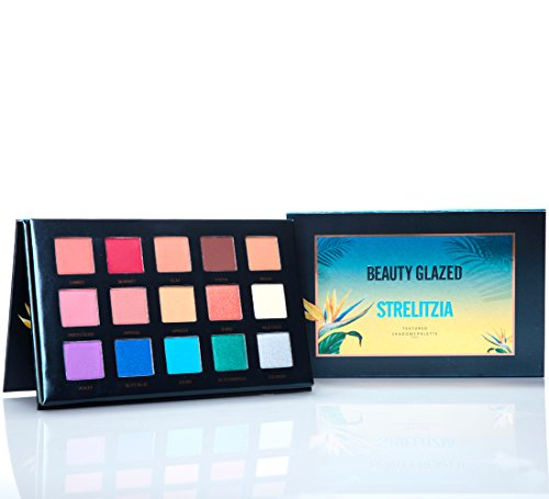 Beauty Glazed 15 Colors Eyeshadow Palette Matte + Shimmer Na