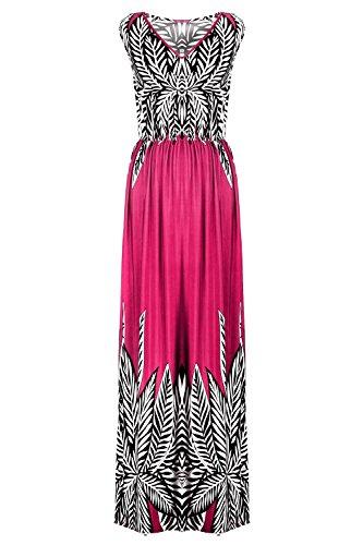 G2 Chic Women's Spring Summer Jersey Dress(DRS-CAS,FCHA1-3X) (G2 Chic Maxi Dress)