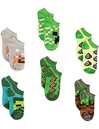 Little Boys Low Cut Socks, 6 Pair Pack, Multi