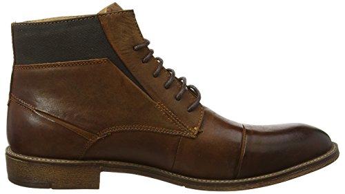 Marrón Cognac de Up Lace Quibb Steve para Zapatos Derby Cordones Hombre Madden qwvWSHZ