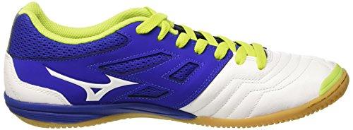 Mizuno Herren Sala Premium in Fußballschuhe Blu (Surf The Web/White)