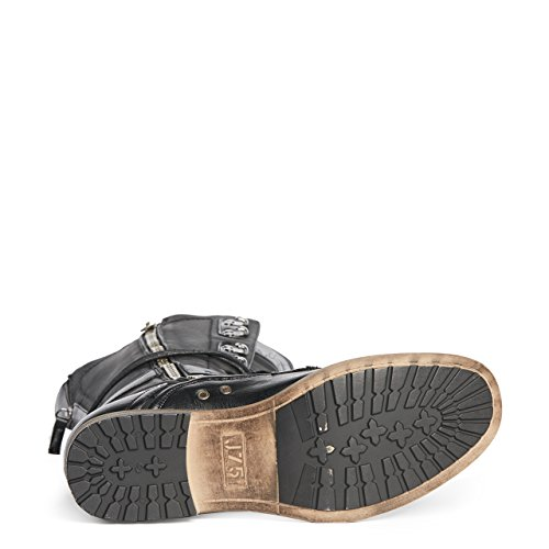 Sauter 75 Usa Hommes Leurres Bottes Chaussures Noir