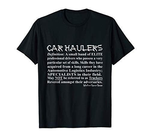 Mens Car Hauler Definition Tee for sale  Delivered anywhere in USA
