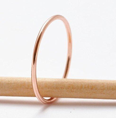 Rose Gold Stacking Rings ()