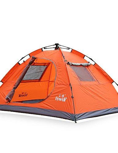 HIIY Zelt ( Grün/Blau/Orange , 2 Personen ) - Feuchtigkeitsundurchlässig/Wasserdicht/Atmungsaktivität/Regendicht/Winddicht/warm halten