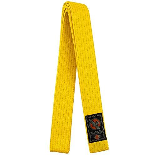 Hayabusa Cotton Karate Belt, Yellow, 5