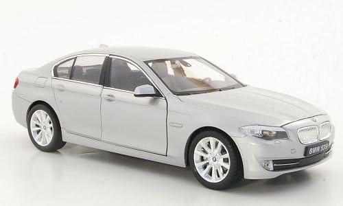 modello di automobile modello prefabbricato argento F10 Welly 1:24 Modello esclusivamente Da Collezione BMW 535i
