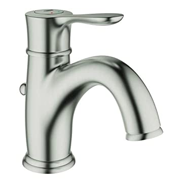 Grohe 23 305 Parkfield Single Hole Bathroom Faucet with SilkMove ...