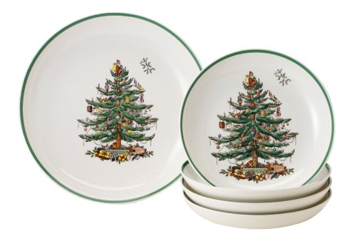 Spode Christmas Tree 5-Piece Bowl Set