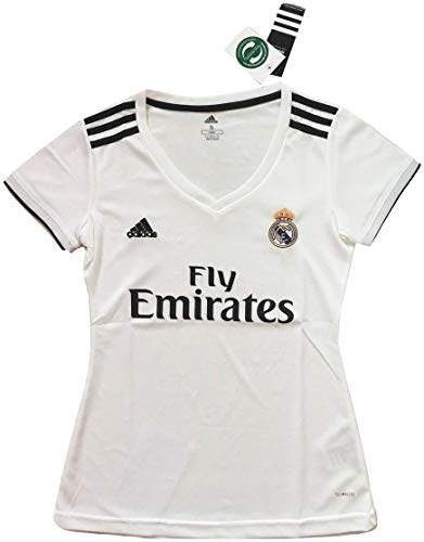 4ae00c98caa Simeonka-Hrisy Women s 2018-2019 Real Madrid Home Soccer Jersey White
