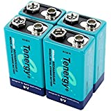 4 pieces of 9V 250mAh NiMH high capacity rechargeable Battery