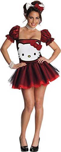 Rubie's Women's Hello Kitty Red Adult Costume
