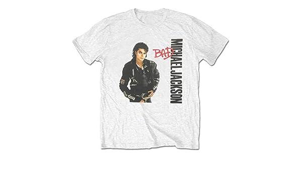 Rockoff Trade Michael Jackson Bad Camiseta para Hombre: Amazon.es: Ropa y accesorios