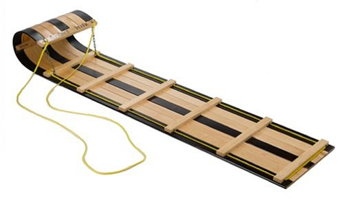 Flexible Flyer 6 Foot Classic Wooden Toboggan by Paricon