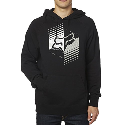 Fox Racing Mens Dirt Burn BF Fleece Hoody Pullover Sweatshirt X-Large Black (Fox Racing Clothing For Men compare prices)