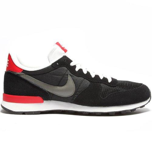 Nike Internationalist 631754 Herren niedrig schwarz/rot