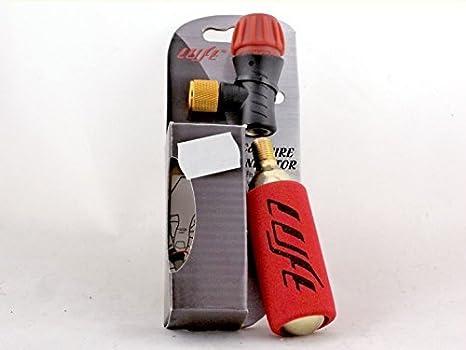 Luft - Regulador de inflado para bicicleta, grifo Co2 + 1 botella de Co2 de 16 g: Amazon.es: Deportes y aire libre