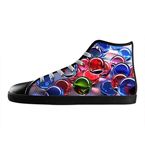 Canvas I Shoes Women's Scarpe Lacci stereoscopica Stampa delle da Ginnastica Scarpe Alto Tetto Scarpe Custom 3D UYw1XI