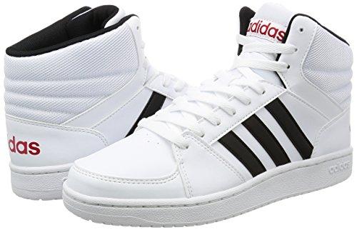 adidas VS HOOPS MID - Zapatillas deportivas para Hombre, Blanco - (FTWBLA/NEGBAS/ESCARL) 41 1/3