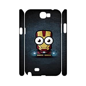 LABEXB Super heros Phone 3D Case For Samsung Galaxy Note 2 N7100 [Pattern-5]