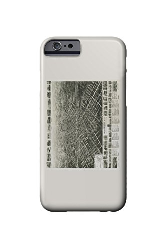 westfield-new-jersey-panoramic-map-iphone-6-cell-phone-case-slim-barely-there