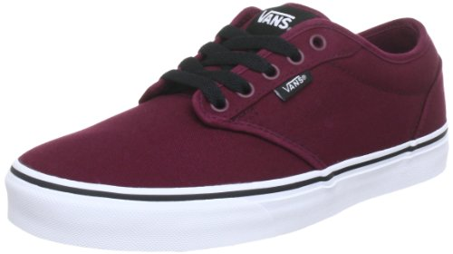 Vans Men Atwood Canvas Low-Top Sneakers, Red (Oxblood/White), 6.5 UK (40 EU)]()