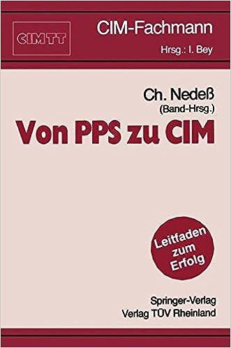 Von PPS zu CIM (CIM-Fachmann)
