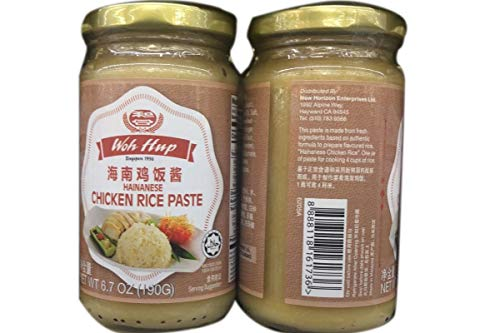 Woh Hup Hainanese Chicken Rice Paste 和合海南鸡饭酱 6.7oz - Total of 12 units